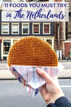 16 Delicious Dutch Foods to Try in Amsterdam - From cheese and Dutch apple pie to pancakes and frites, there is a lot to love about Dutch food. Try these 11 foods and drinks on a visit to the Netherlands. Amsterdam Trip, Amsterdam Travel Guide, Amsterdam Food, Amsterdam Things To Do In, Europe Travel Tips, European Travel, Travel Destinations, Amsterdam Itinerary, Amsterdam Quotes