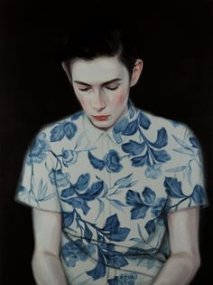 I'm a big fan of Kris Knight's portraits so it's about time I posted some of my favorite paintings, on the blog today: http://www.artisticmoods.com/kris-knight/