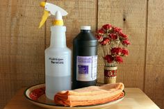 hydrogen peroxide is an earth friendly all purpose cleaner...