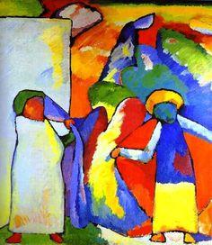 Wassily Kandinsky 1866-1944, Improvisation 6 African 1909