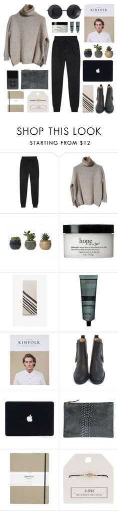 """""""cleveland"""" by jesicacecillia ❤ liked on Polyvore featuring rag & bone, Zadig & Voltaire, philosophy, Aesop, Acne Studios, Clare V., Shinola and Topshop"""