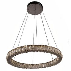 Crystal LED Chandelier Lights Lighting Modern Single Rings D50CM K9 Large Crystal Indoor Ceiling Light Fixtures - GBP £113.08 ! HOT Product! A hot product at an incredible low price is now on sale! Come check it out along with other items like this. Get great discounts, earn Rewards and much more each time you shop with us!