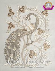 Free Machine Embroidery Design - Paw Print Appliqué