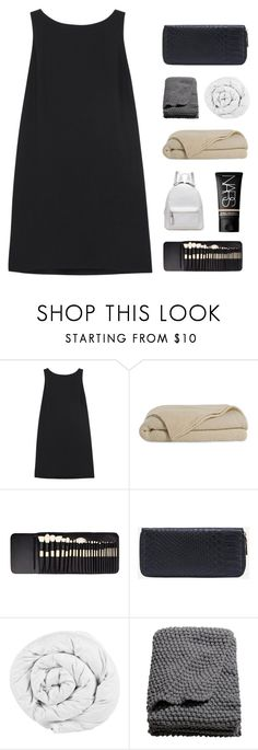 """""""IN THE DEPTH OF YOUR DESPAIR"""" by constellation-s ❤ liked on Polyvore featuring RED Valentino, Elite, The Fine Bedding Company, H&M and NARS Cosmetics"""