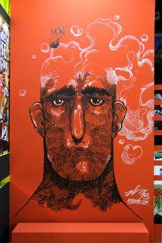 Mural Compilation by Aleix Gordo Hostau by Aleix Gordo Hostau, via Behance