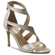 Sandály MACCIONI - 351 Zlatá