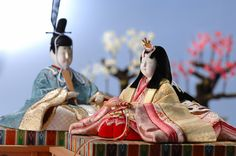 Hina (girls day holiday) dolls.