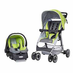 "Evenflo FlexLite Travel System Stroller - Lima - Evenflo - Babies ""R"" Us Double Strollers, Baby Strollers, Lima, Rock N Play Sleeper, Travel Systems For Baby, Babies R Us, Traveling With Baby, Baby Online, Toy Store"