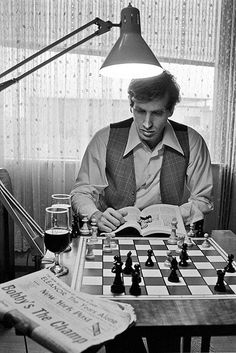 Harry Bensons Bobby Fischer photos exhibited in Saint Louis