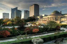 De Botanique, je kan er gaan voor concerten ofwel voor te genieten van de prachtige Kruidtuin.