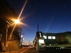 Zushi station in dawn