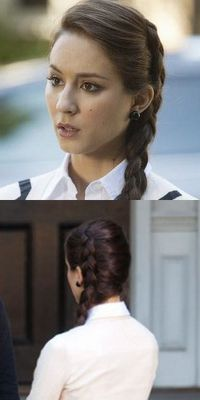 Pretty Little Liars Fashion: HOW TO: Spencer Hastings and her many braids
