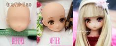 Before and After - Obitsu+Azone hybrid by AndrejA on DeviantArt Asian Doll, Doll Repaint, Ooak Dolls, Diy Doll, Ball Jointed Dolls, Plushies, Kids And Parenting, Bjd, Fashion Dolls