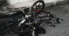 Τρίκαλα: Αστυνομικός βρήκε το μηχανάκι του σε αυτή την κατάσταση