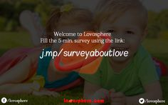 """My team is working on a start-up project called """"Lovosphere"""" with a vision  to make relationships ( love, friends, family) stronger and closer. We are conducting a simple 5-min survey to analyse the current understandings and trends among people about love and family. Kindly go to the link : http://j.mp/surveyaboutlove?utm_content=kuku.io&utm_medium=social&utm_source=pinterest_group&utm_campaign=kuku.io and complete this five-minutes survey . It doesn't ask for any sensitive information…"""