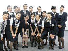 JAL Cabin Attendant everywhere 客室乗務員 キャビンアテンダント - World stewardess Crews