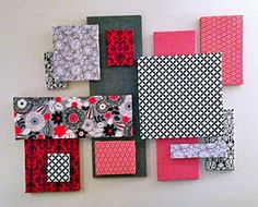 Raspberry Patch DIY Fabric Wall Art + Link To How To Part 52