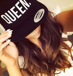 """""""Queen"""" Snapback: I blame a certain someone for my sudden interest in Snapbacks 😧😧😧 Snapback Hats, Beanie Hats, Beanies, Swag Style, My Style, Estilo Swag, Dope Hats, Thing 1, Head Accessories"""