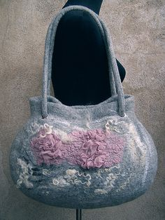 Felted wool bag | Flickr - Photo Sharing!