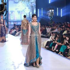 Zaheer Abbas- Pantene Bridal Couture Week 2014| Zaheer Abbas Bridal Collection at PBCW | Zaheer Abbas Bridal Collection by Style 360.