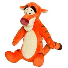 Winnie the Pooh Bounce Bounce Tigger Soft Toy This 29.5cm tall soft Tigger just loves bouncing and he wants you to join in.Tigger plays fun music, and you have to try and bounce him as fast as you can. The more you bounce him the more he boings!  http://www.comparestoreprices.co.uk/soft-toys/winnie-the-pooh-bounce-bounce-tigger-soft-toy.asp