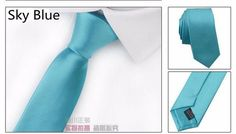 Wholesale new fashion leisure slim skinny narrow arrow necktie light solid color satin 5cm black red blue bow ties for men