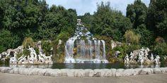 Reggia di Caserta - La Fontana di Diana e Atteone e la Grande Cascata