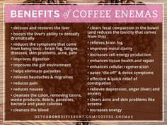 The smartest and most advanced holistic doctors in the world are using and recommending coffee enemas – and you should too. If you want to completely transform your health and heal your body …