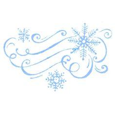 8475 - Blustery Snowflakes - SKU: F567