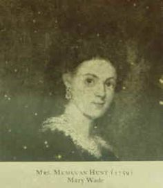 Mary Polly Wade-Hunt 1736–1825 BIRTH 1736 SEP 03 • Halifax, Halifax, Virginia, America DEATH 1825 • Granville County, North Carolina, America wife of 9th great-uncle Memucan Hunt (RW). Burial: Unknown (Jackson Family)