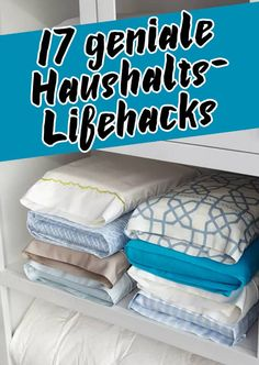 """17 ingenious household life hacks, where you'll say, """"Why did not I know tha… - DIY Ideen"""