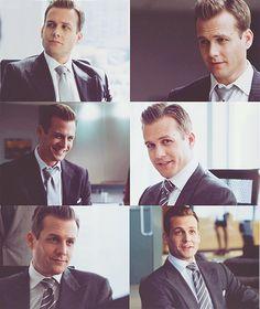 Gabriel Macht as Harvey Specter in Suits