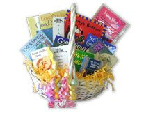 The Enchanted Bookery: Personalized Book Baskets for All Occasions. One of our favorite gifts when our DD was born!