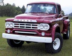 Vintage Trucks 1959 Dodge - good old American built to last - Old Dodge Trucks, Dodge Pickup, Old Pickup, Pickup Trucks, Dodge Auto, Dodge Cummins, Toyota Trucks, Cool Trucks, Big Trucks