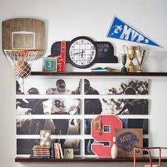 Sports Wall Organization - Basketball Hoop   PBteen