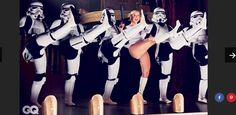 Amy Schumer for Star Wars themed shoot in GQ