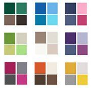 Color combinations for family pictures.