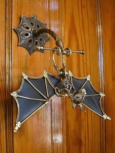 Bat doorknob