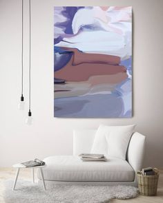 A Winter Poem. Abstract Paintings Art, Wall Decor, Extra Large Abstract Colorful Contemporary Canvas Art Print up to by Irena Orlov Acrylic Painting Canvas, Canvas Art Prints, Painting Prints, Abstract Wall Art, Abstract Paintings, Large Artwork, Inspirational Wall Art, Your Paintings, Decoration