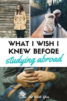 Pin for the top study abroad tips, from travelers who've been there, done that!
