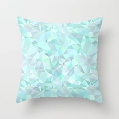 Mint Throw Pillow by Kimsa - $20.00 - this is all kinds of awesome