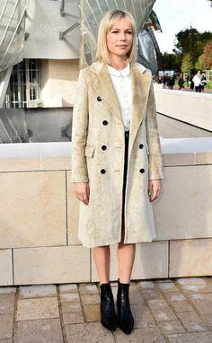 Les célébrités au premier rang du défilé Louis Vuitton printemps-été 2016
