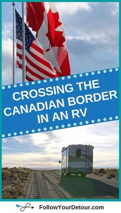Canada is a great RV travel destination. With lots of beautiful national parks like Banff, plus Nova Scotia and Niagara Falls.its no wonder its on many peoples bucket lists. So, if you're planning to take a RV camping road trip from the United States, y Camping Snacks, Camping Car, Camping With Kids, Camping Ideas, Camping Stuff, Outdoor Camping, Camping Packing, Family Camping, Rv Travel