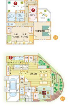 間取り House Inside, My House, Japanese House, Home Reno, House Layouts, House Floor Plans, Living Spaces, Flooring, How To Plan