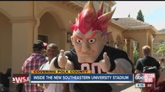 ABC Acton News Promo Southeastern University first-ever home football game Southeastern University, College Necessities, Christian College, First Ever, News 6, Football Team, Dorm, How To Plan