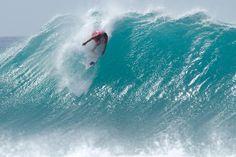 playa de Cacimba do Padre de Fernando de Noronha (Brasil) está siendo escenario de la primera cita 'prime' del mundial de surf ASP