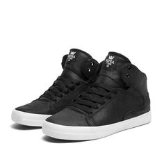Supra Society - Mid Shoe - Black/White - $110.00