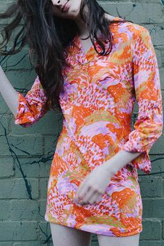 Rock on in this vintage dress