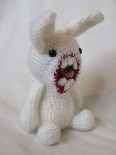 Mr Bunnyford - Amigurumi Crochet Toy