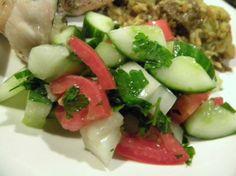 Arabic Salad. Photo by Axles
